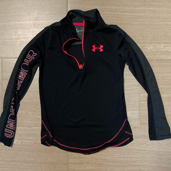 Under Armour Other - Girls Under Armour 3/4 ZIP top